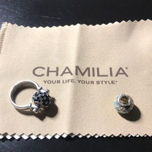 Chamilia ring - Sterling Silver